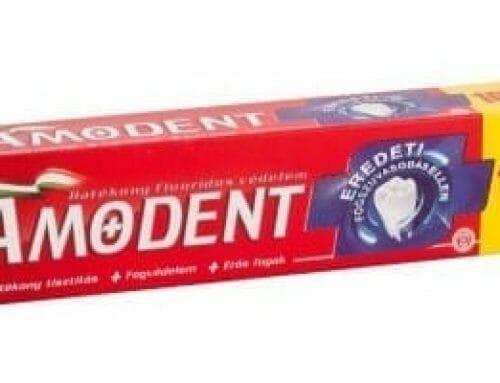 Kipróbáltuk: Amodent fogkrém – Színtévesztőknek kifejlesztve