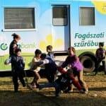 A Nemzetközi Gyermekmentő Szolgálat fogászati szűrőbusza. /Kép: ngsz.hu/