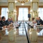 Magyar-azer tárgyalások. /Kép: kormany.hu/