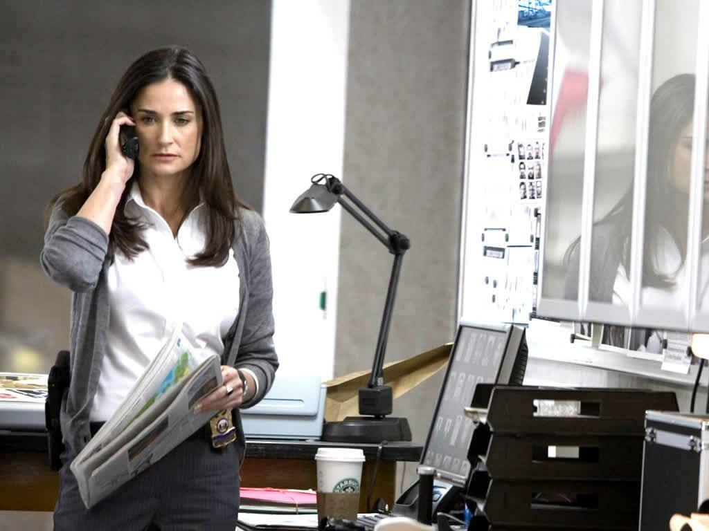 A 2007-es Mr. Brooks forgatásán a színésznő csúcsformában van.