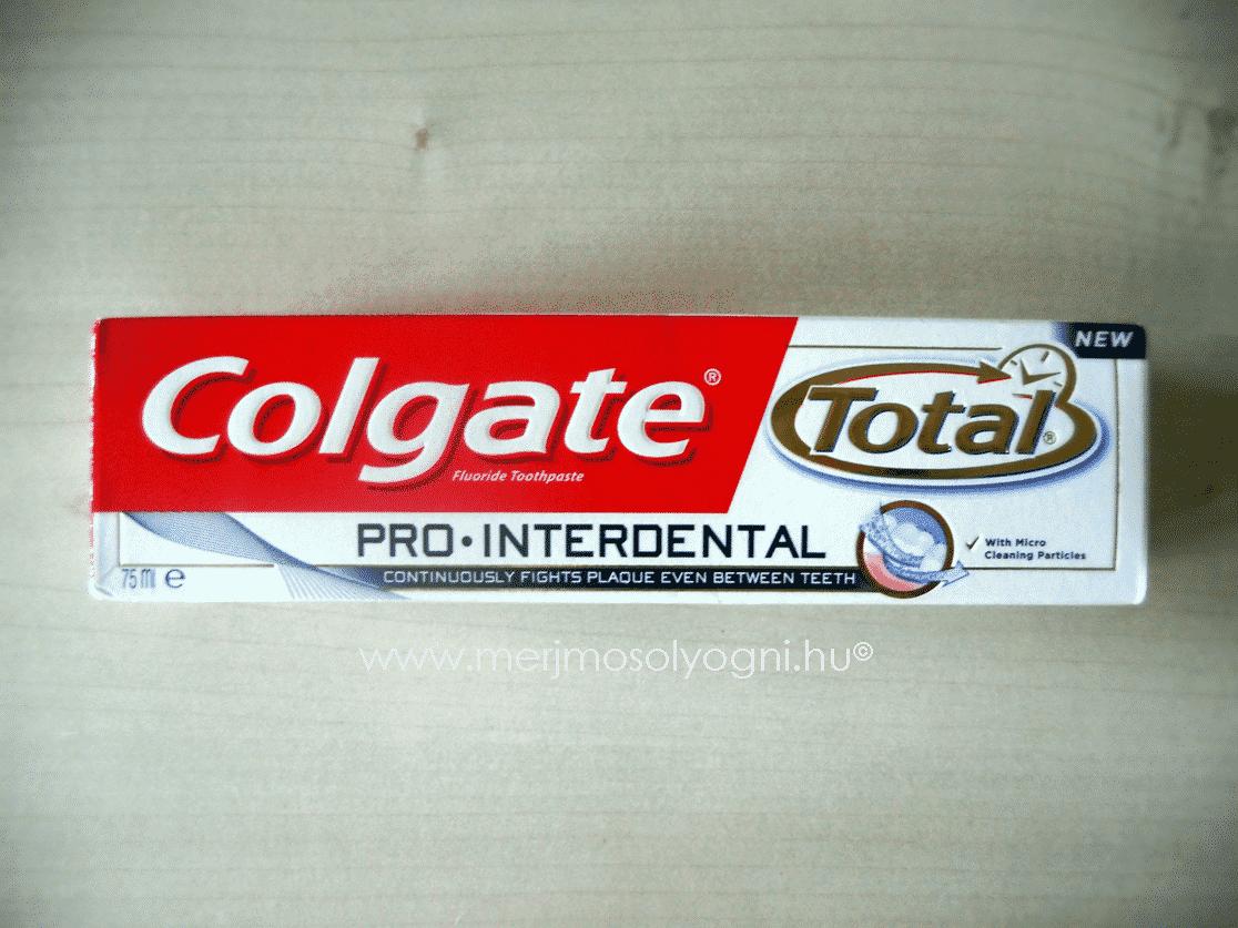 colgate pro interdental teszt