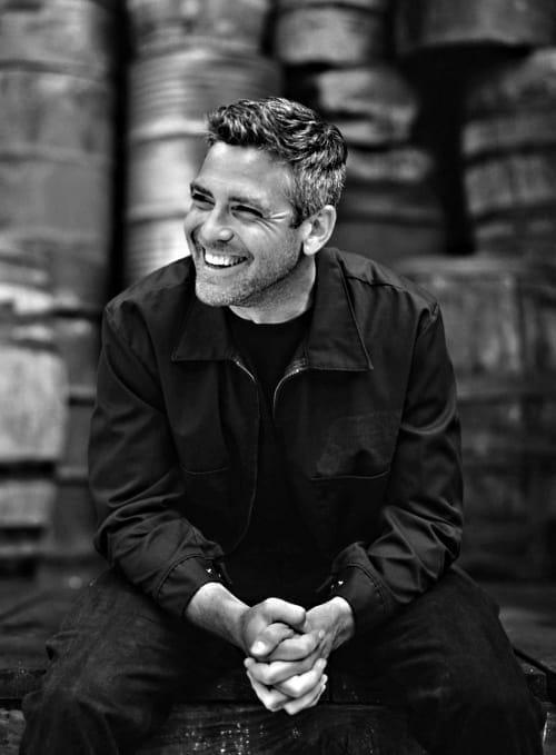 George Clooney vonzó mosolyáért nők ezrei bolondulnak meg, kortól függetlenül. (Kép: mht.dk)