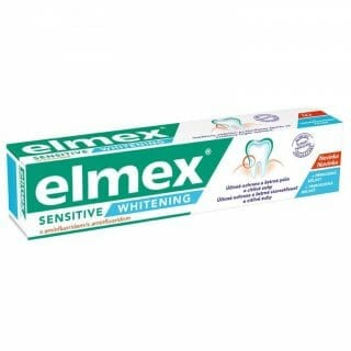 Elmex Sensitive Plus Whitening fogkrém.