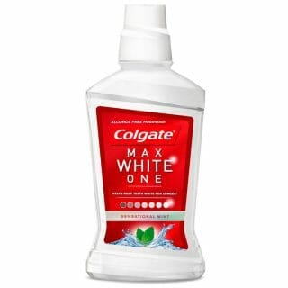 Colgate Max White One 500 ml szájvíz.