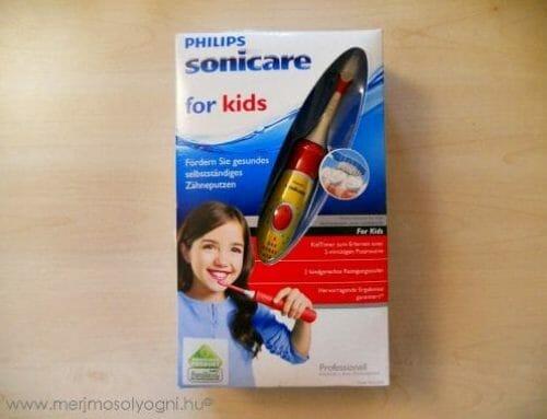 Kipróbáltuk: Philips Sonicare for Kids szónikus gyerekfogkefe – Minden szülő álma