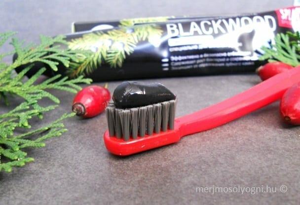 A SPLAT Blackwood fogkrém színe éjfekete. /Kép: merjmosolyogni.hu/