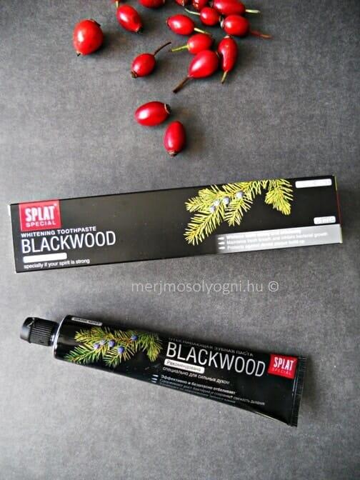 SPLAT Blackwood fpgkrém. /Kép: merjmosolyogni.hu/