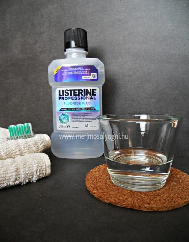 Listerine Fluoride Plus