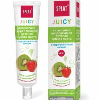 splat juicy fogkrem kiwi-eper