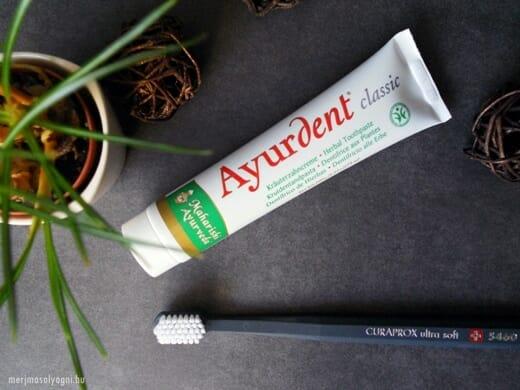 A fogkrém összetevőiben a növényi alapanyagok dominálnak.