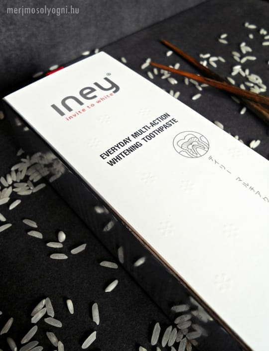 Az Iney Wind fogkrém mindennapos fogfehérítésre lett tervezve.