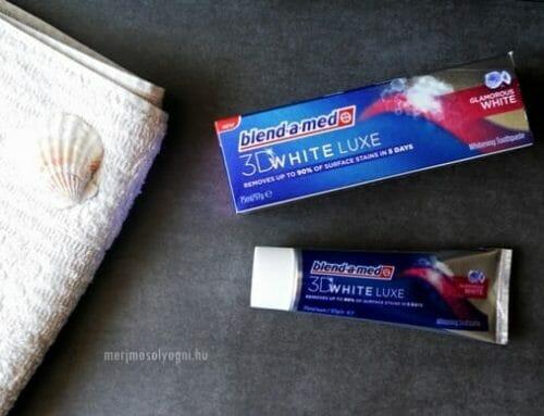 Kipróbáltuk: Blend-a-med 3D White Luxe fogkrém – Minek nevezzelek?