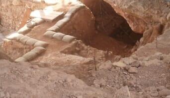A Qesem barlang 200 ezer évig volt betemetve, így a leletek kitűnő állapotban maradtak.
