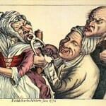 Fontos a kisugárzás - ilyen kedves arcú orvossal nem is fáj a foghúzás (a háttérben talán a férj...?).