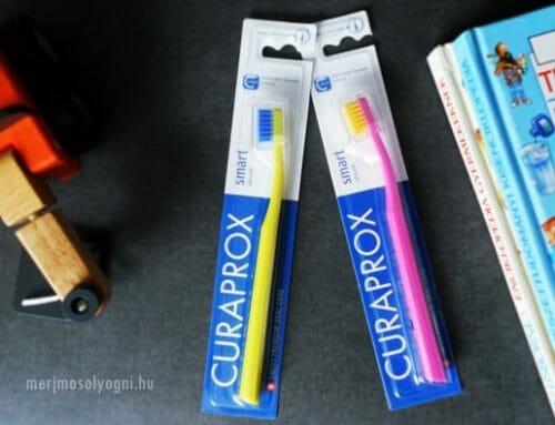 Kipróbáltuk: Curaprox CS Smart fogkefe – Kicsiknek és nagyoknak