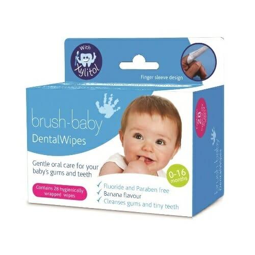 brush baby fogtisztito kendo