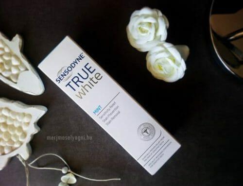 Kipróbáltuk: Sensodyne True White fogkrém – Valódi változás