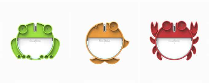 Gyermekek számára barátságos állatfigurákkal tehető szerethetővé a fogselyem adagoló. /Kép: Flosstime.com/
