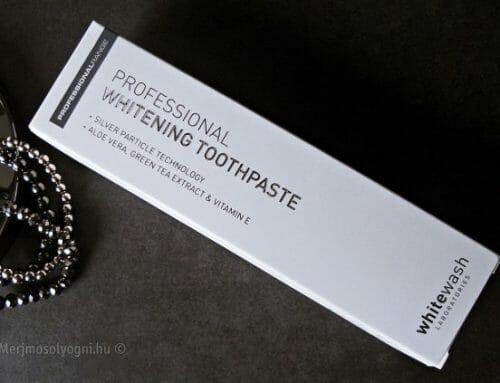 Kipróbáltuk: WhiteWash fogfehérítő fogkrém – Brit tervezés
